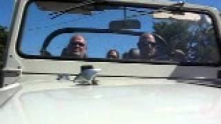 Driving the FJ40 around Sonoma