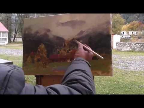 Alexander Babich Russian impressionist