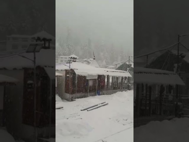 Gangotri snowfall April 2021