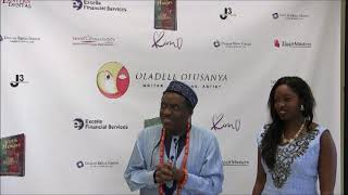 GODS AND HEROES BY OLADELE OLUSANYA: BOOK LAUNCHING INTRO