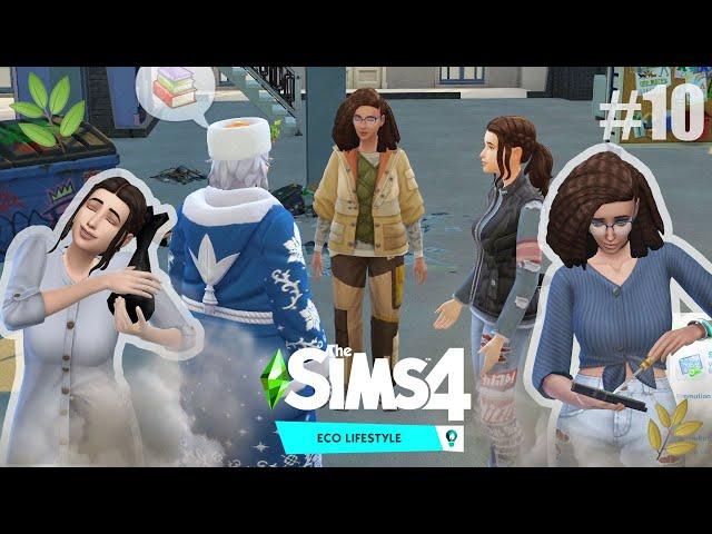 Interjú a Mikulással | The Sims 4 Eco Lifestyle Végigjátszás 10.rész