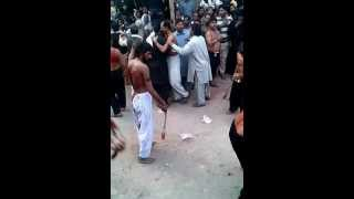 10 Muharam 2012 Zanjeer Zani Raiwind Citi Lahore Part 2