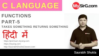 Lecture 9 Functions in C Part 5 Hindi