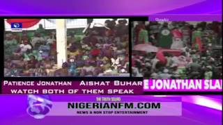 Final Battle Between Aisha Buhari And Patience Jonathan - Vote Wisely Nigerians!