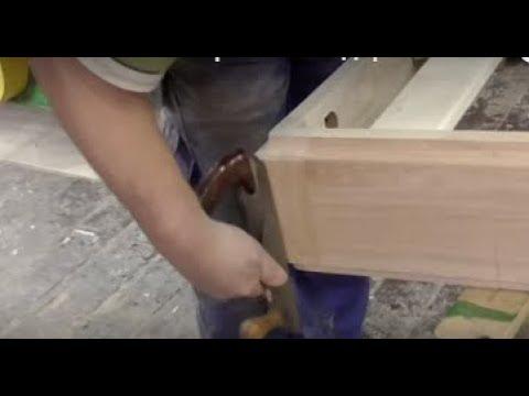 Как изготовить кровать из дерева. Авторская работа.