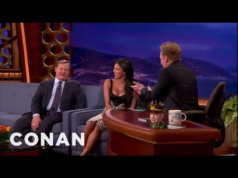 Thumbnail: Nicole Scherzinger Busts Conan For Staring At Her Boobs