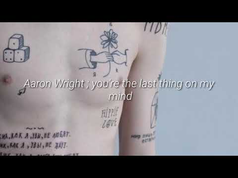 Aaron Wright - You're the last thing on my mind ; Español