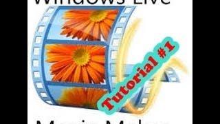 Tutorial Come usare windows live movie maker ITA