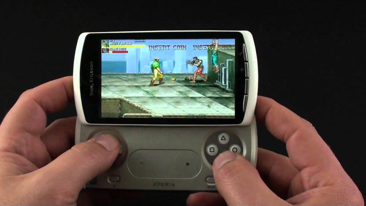 sony ericsson xperia play emulator gaming youtube
