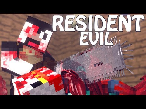 Minecraft | RESIDENT EVIL MOD Showcase! (Horror Mobs, Horror, Scary Mod) fragman