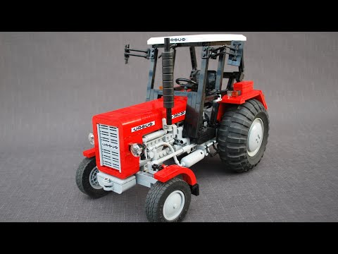 Ursus C360 3p In Lego Version By Eric Trax Youtube