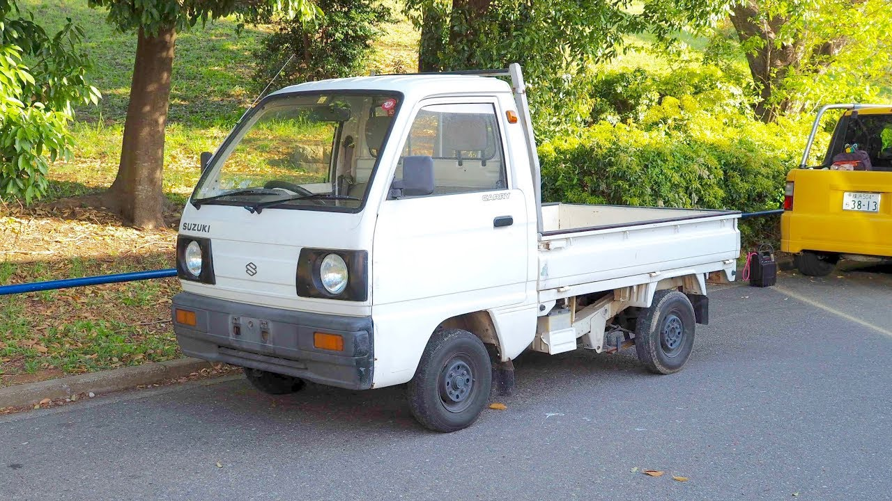 34fcaea96e 1989 Suzuki Carry Kei Truck 550cc (USA Import) Japan Auction Purchase Review