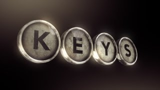 Create a Logo with Typewriter Keys