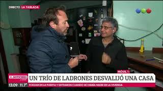 Desvalijaron una casa en La Tablada