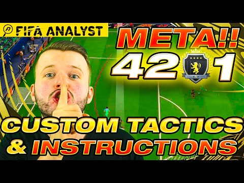 The Only FIFA21 Formation You Need! - META 4231 Custom Tactics & Instructions | FUT21