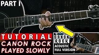 TUTORIAL CANON ROCK ACOUSTIC GUITAR (PART I)