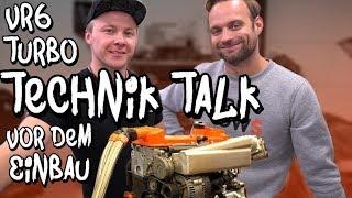 VR6 Turbo Technik Talk vorm Einbau - Es hat sich an Marius Motor einiges getan! | Philipp Kaess |