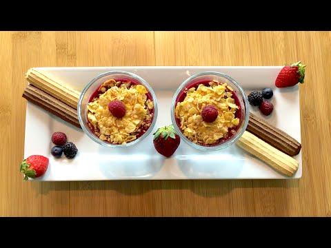 Yogurt and berries parfait - Cooking Simple Recipes