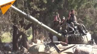 """بالفيديو: """"جبهة النصرة"""" تتبع أسلوباً جديداً في معارك طاحنة بريف اللاذقية"""