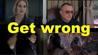 Английские фразы: Get wrong (примеры из фильмов и сериалов)