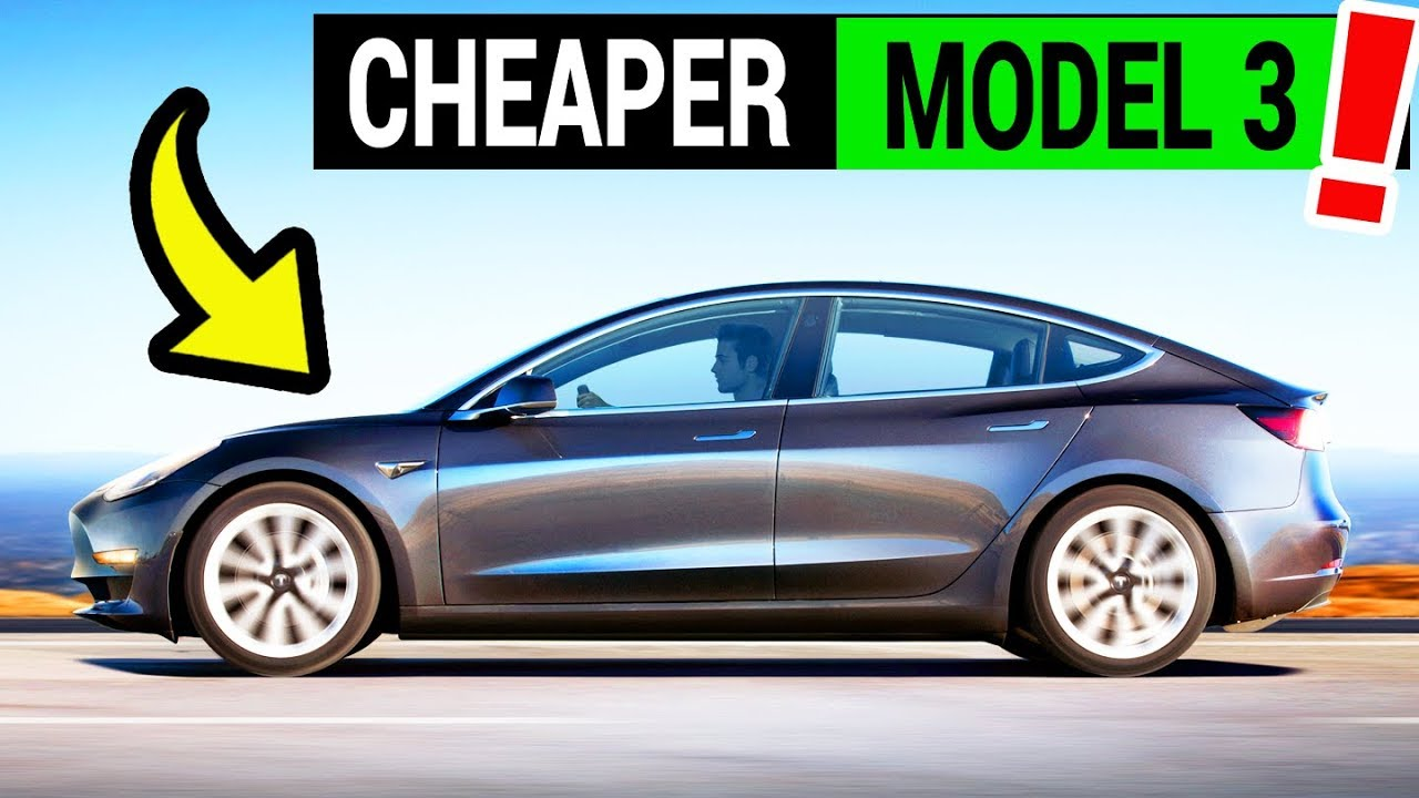 Tesla Model 3 Lease Price Drops by Over $2,000 - YouTube