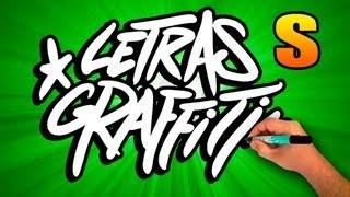 Graffiti alphabet # Letter S