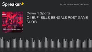 C1 BUF- BILLS-BENGALS POST GAME SHOW