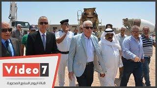 محافظ جنوب سيناء يتفقد أعمال الإنشاء بجامعة الملك سلمان