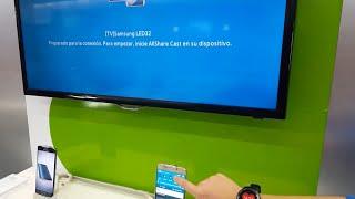 Cómo conectar un móvil Samsung a la TV. Screen Mirroring. Duplicador de pantalla.