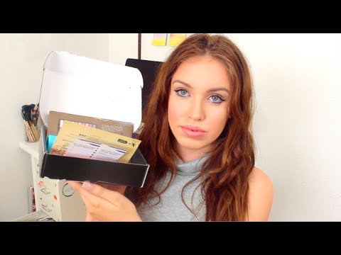 more nude makeup palletes ♡ august 2015 boxycharm  youtube