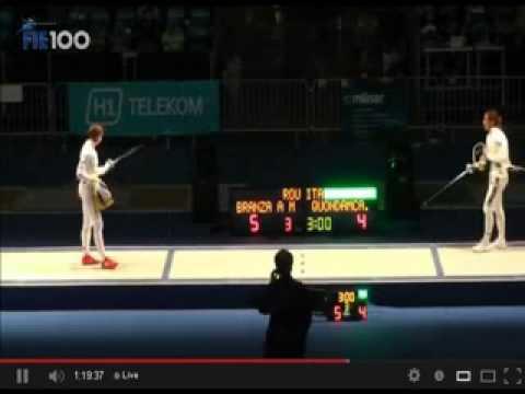 Fencing:Gold for Romania at the E.C. 2013, Zagreb - Ana Maria Branza / Aur la Scrima !