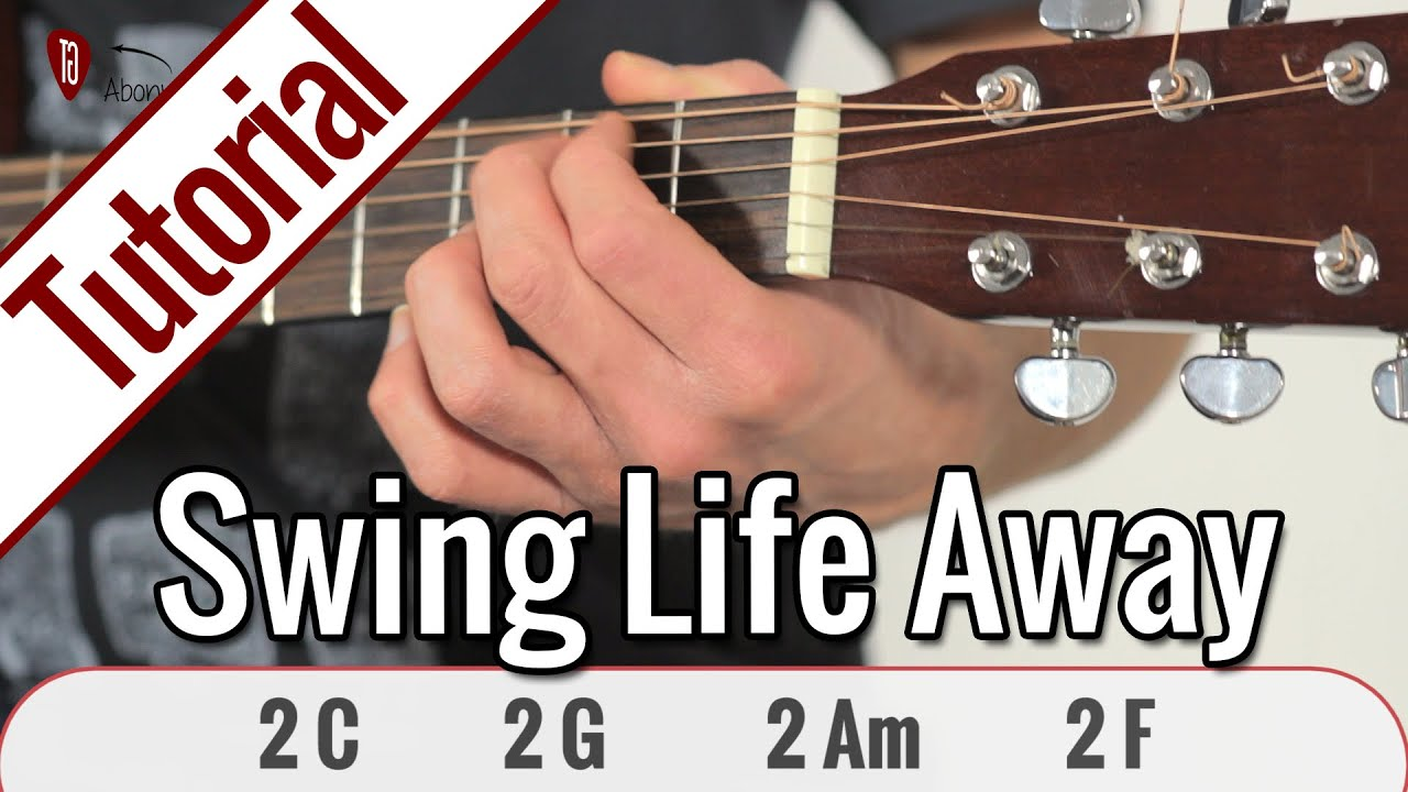 Rise Against Swing Life Away Gitarren Tutorial Deutsch Youtube