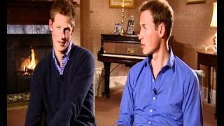 Prince William and Prince Harry interview on Princess Diana's tribute concert