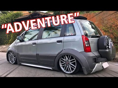 [LOW VLOG] FIAT IDEA ADVETURE ARO 18 SUSPENSÃO A AR