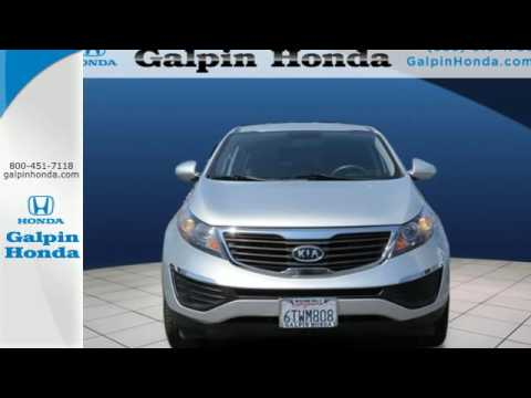 Nice Used 2012 Kia SPORTAGE Los Angeles San Fernando Valley, CA #H160608A. Galpin  Honda