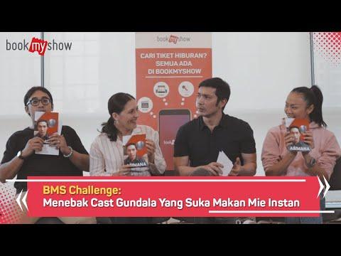 BMS Challenge: Menebak Cast Gundala Yang Suka Makan Mie Instan - BookMyShow Indonesia