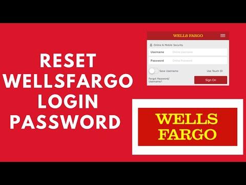 Reset WellsFargo Login Password | Recover Wells Fargo Password | WellsFargo Login