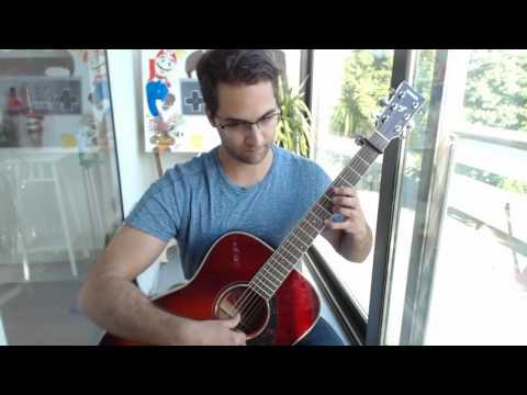 Undertale (Main Theme) - Undertale on Guitar