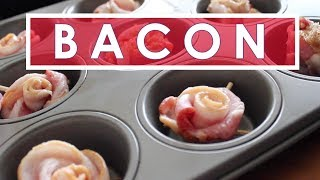 Kristen's Bacon Roses | How To Bake