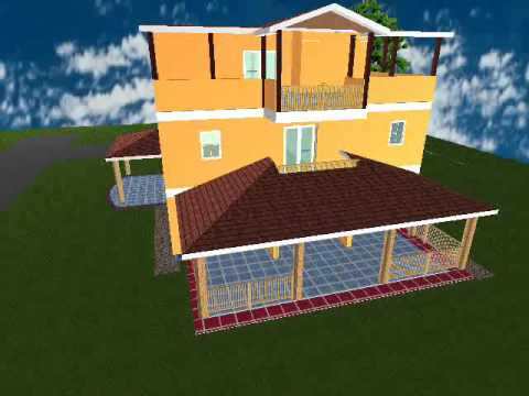 3D Home Architect Design Suite Deluxe 8 (taner gören) - YouTube