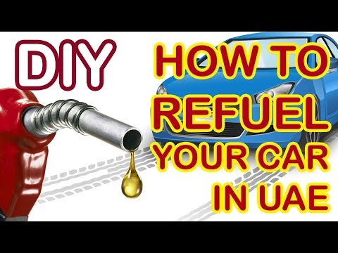 Self Fueling in UAE ADNOC stations - Cash & Card payments - Step by Step DIY process