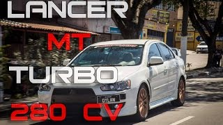 LANCER MT TURBO 280CV - 0-100km/h | DINAMÔMETRO | 100 - 200km/h
