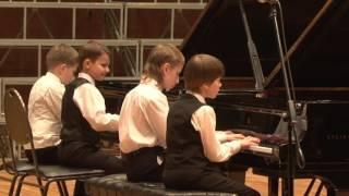 Евгений Глебов  «Мушкетеры», переложение для двух фортепиано Михаила Григорьевича Солопова