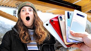 Guess the Phone, Get the Phone! - iPhone vs Samsung vs Huawei vs Pixel