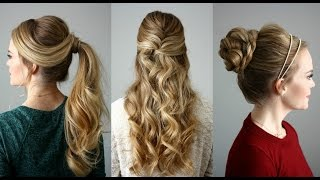 3 Holiday Hairstyles | Missy Sue