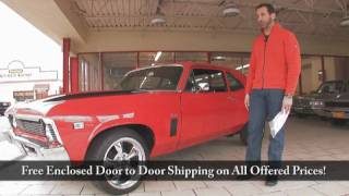 1969 Nova SS for sale with test drive, driving sounds, and walk through video