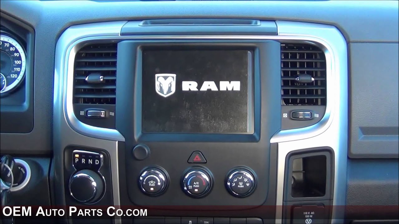 2013 2014 2015 Ram Truck Factory Uconnect Gps Navigation