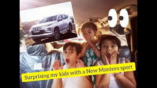 VLOG 48 - Surprising our kids with a new Montero Sport