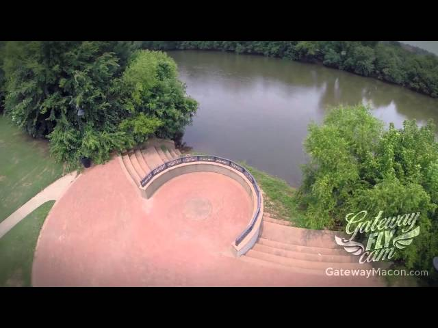 Aerial Macon - Gateway Park
