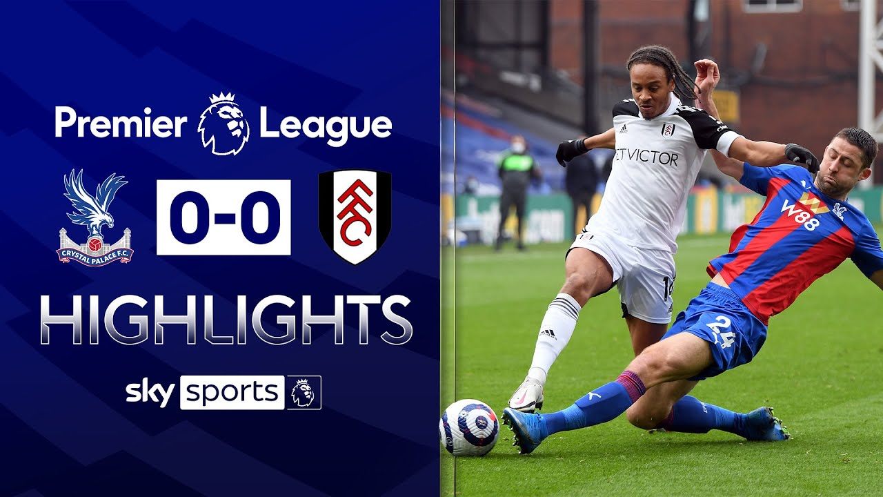 Palace and Fulham battle for draw! | Crystal Palace 0-0 Fulham | Premier League Highlights